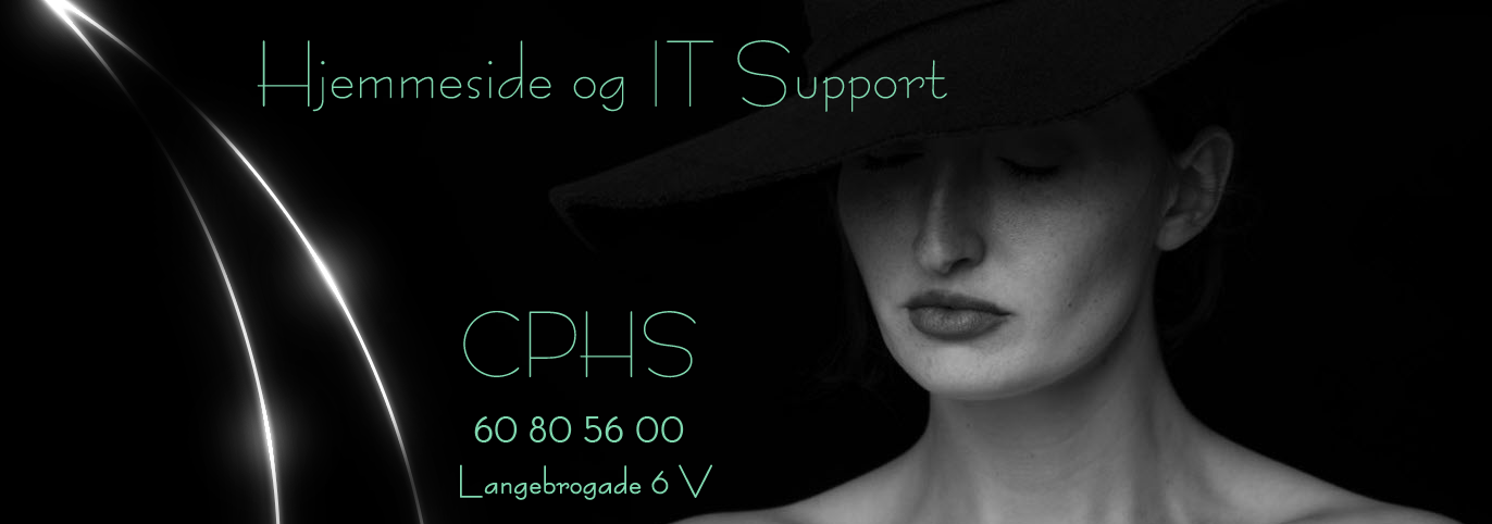 CPHS Hjemmeside og IT Support